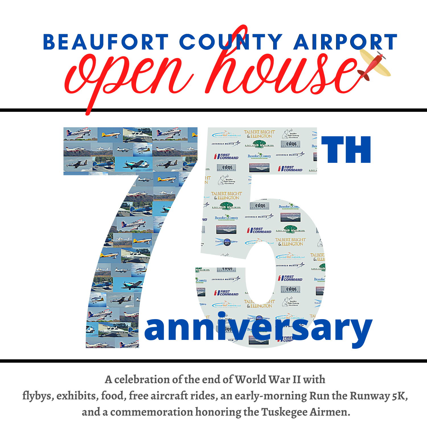 Beaufort County Airport Open House Flyer